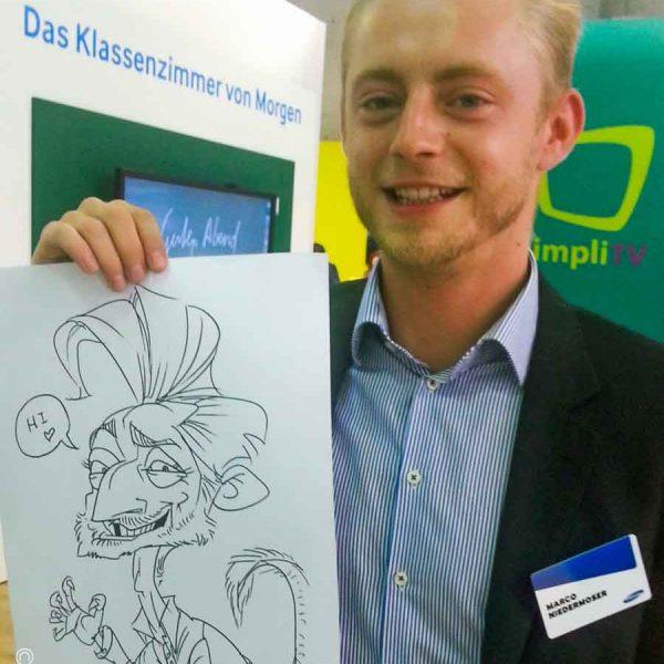 Schnellzeichner-Messe-Karikaturen-1