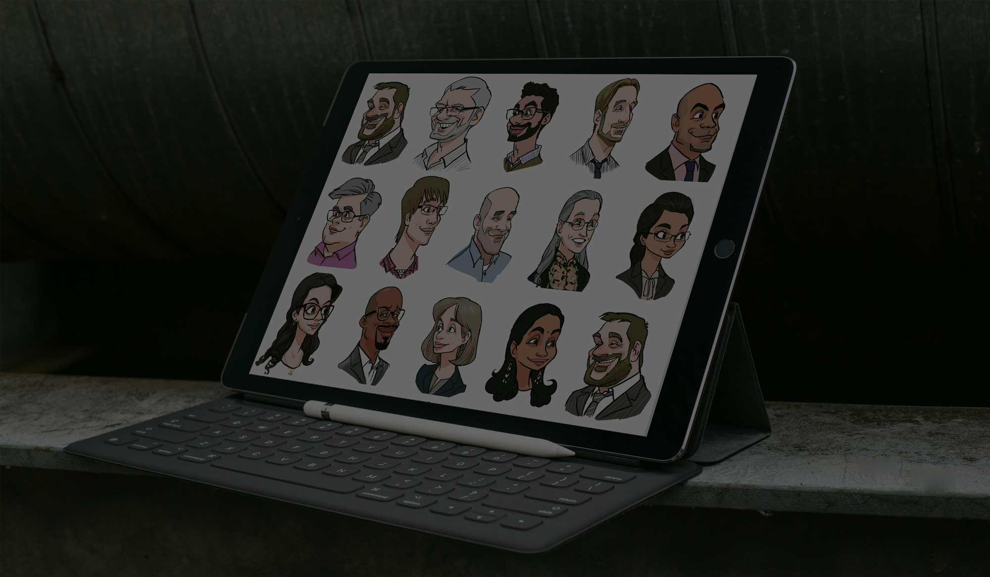 Professional Digital Caricaturist in Vienna for Hire