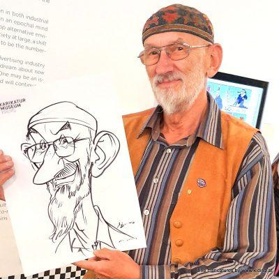 Musterbild Bester Karikaturist und Schnellzeichner für Linz und Oberoesterreich