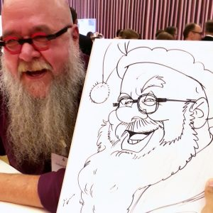 Live Karikatur für Salzburg