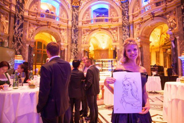 KarikKarikaturist und Schnellzeichner für Bälle und Galas in Wien und Umgebung