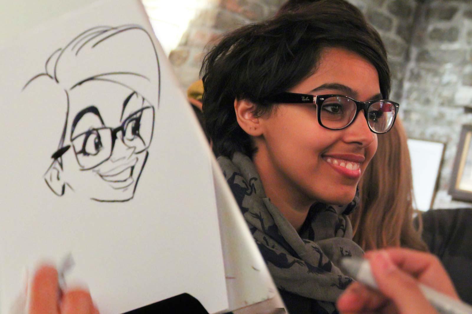 Karikaturist und Schnellzeichner für Firmenveranstaltungen in Innsbruck