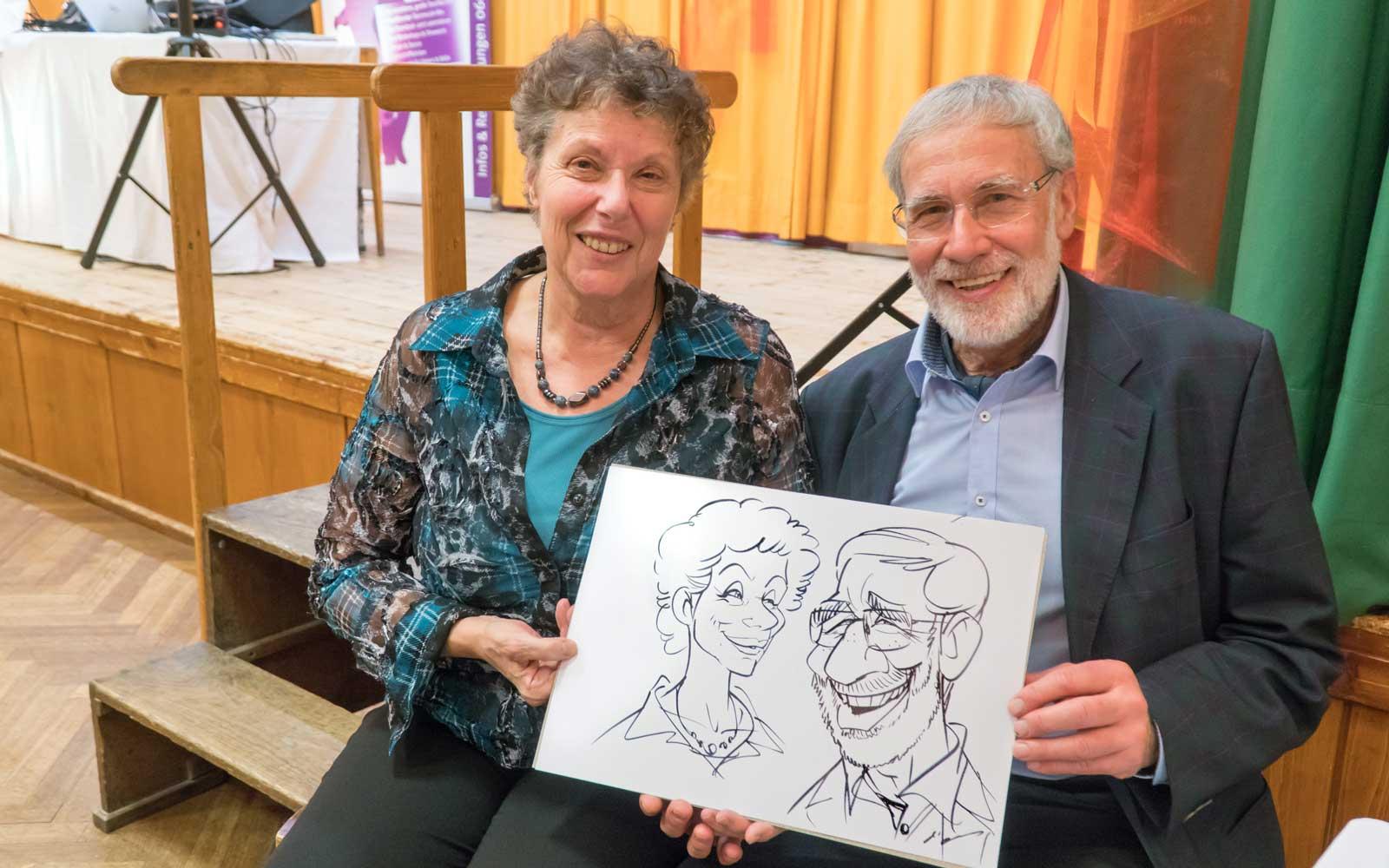 Karikaturist und Schnellzeichner für Firmenevents in Klagenfurt