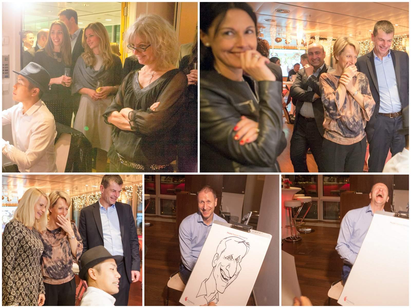 Karikaturist und Schnellzeichner für Firmenveranstaltung in Wien-und-Umgebung