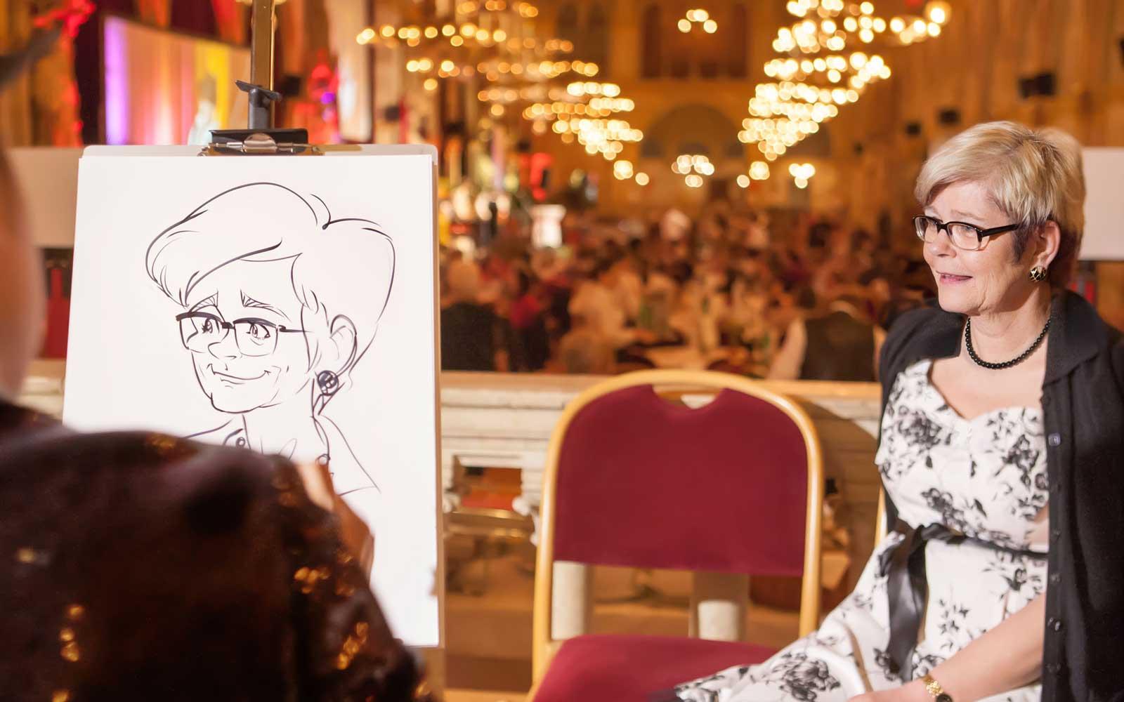 KarikKarikaturist und Schnellzeichner für Firmenveranstaltungen in Wien und Umgebung