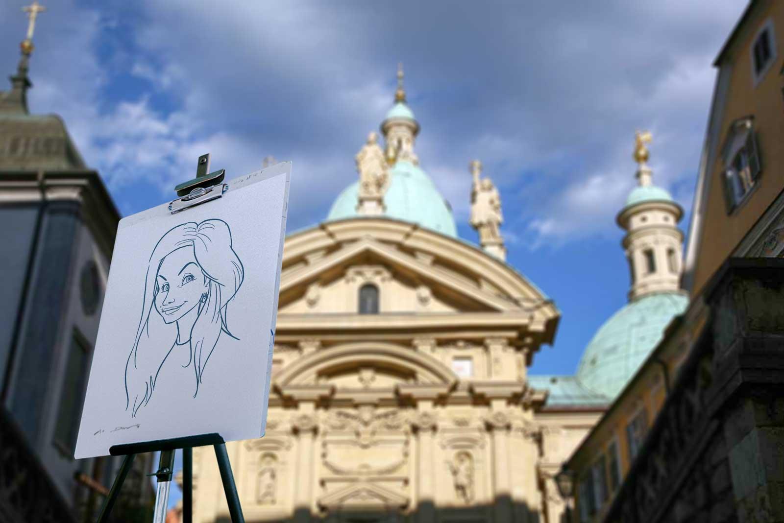 Karikaturist und Schnellzeichner für Graz und Umgebung