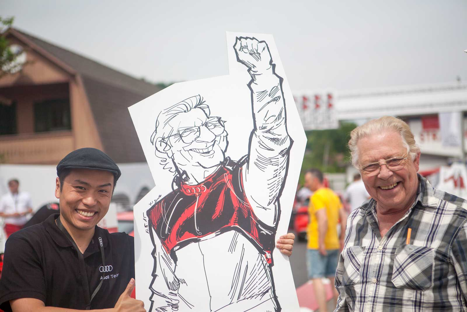 Karikaturist und Schnellzeichner für Kundenevents in Klagenfurt