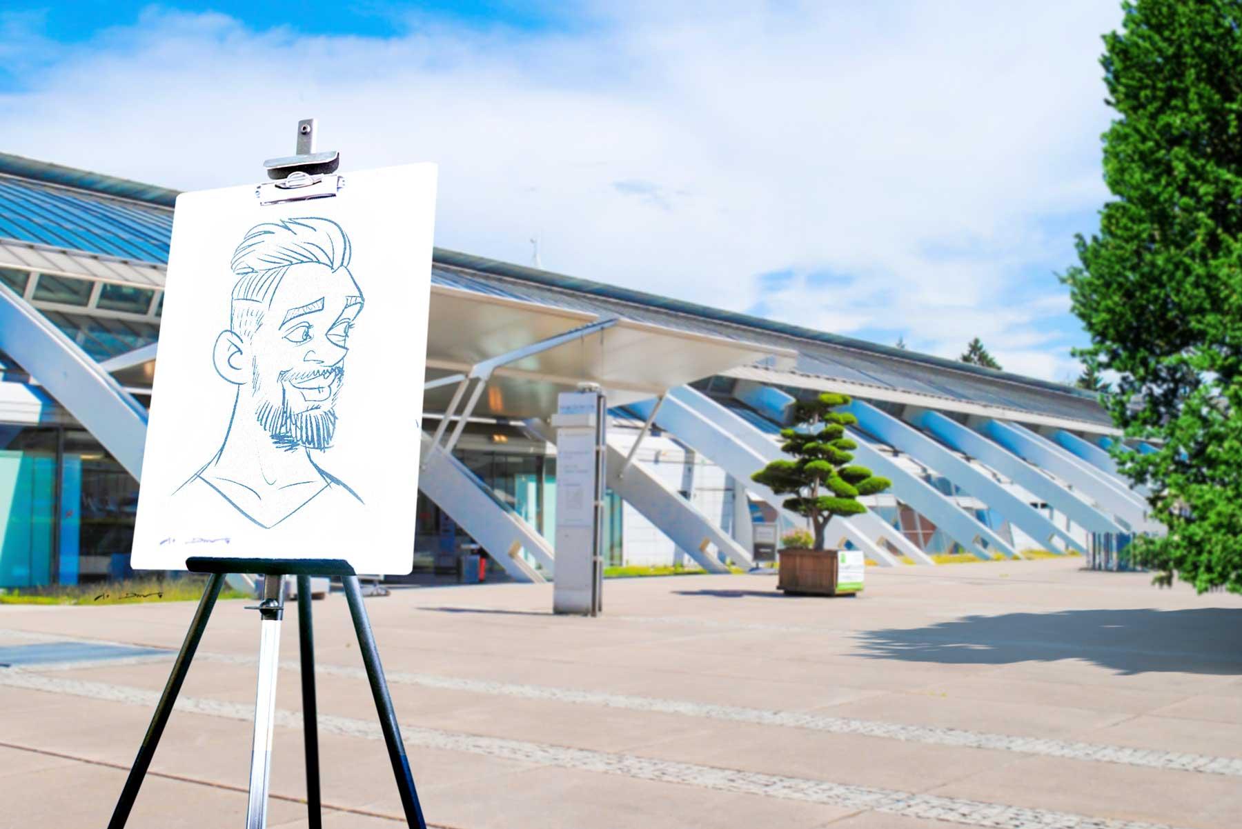 Karikaturist und Schnellzeichner für Linz und Umgebung