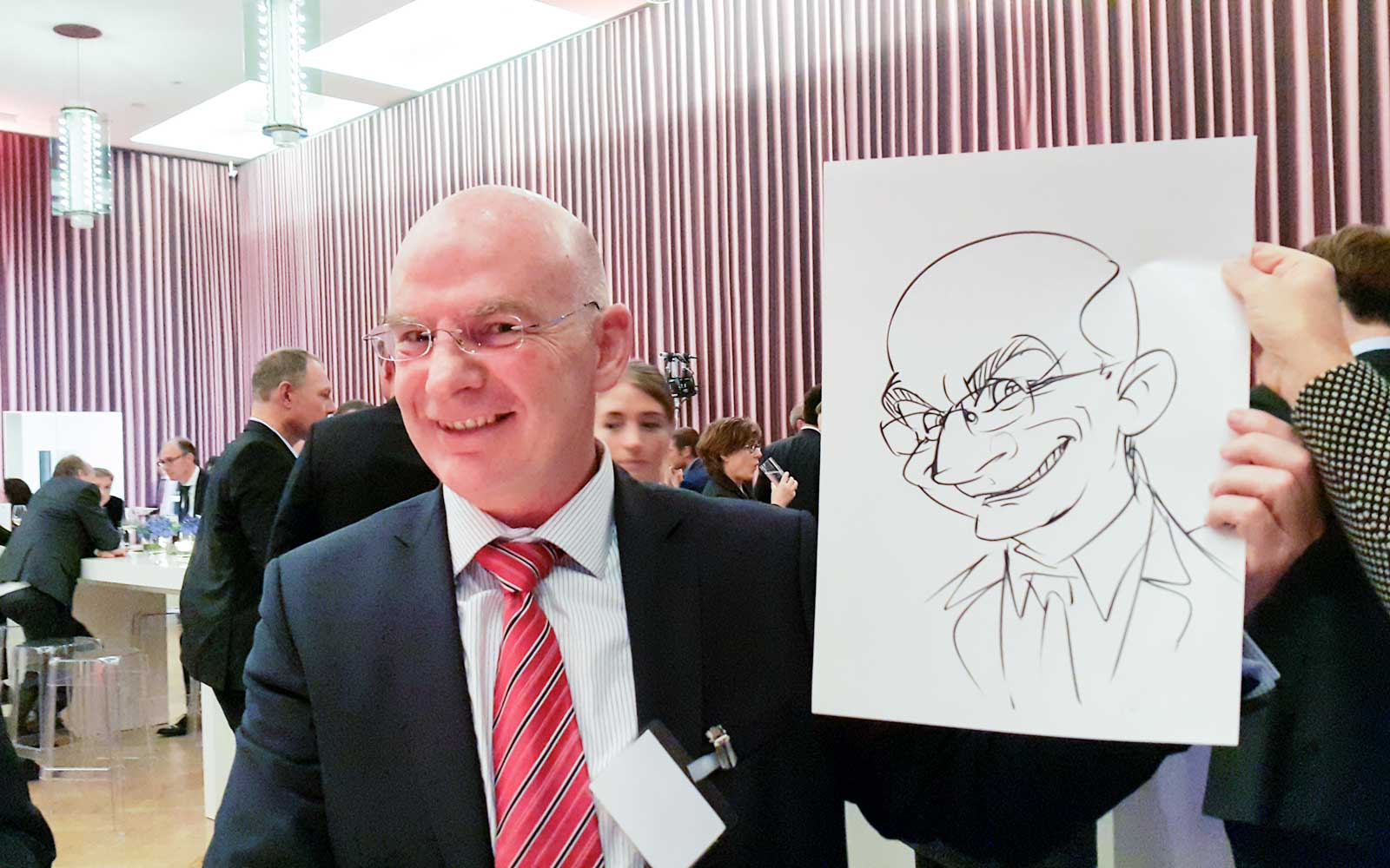 Karikaturist und Schnellzeichner für Messe in Klagenfurt