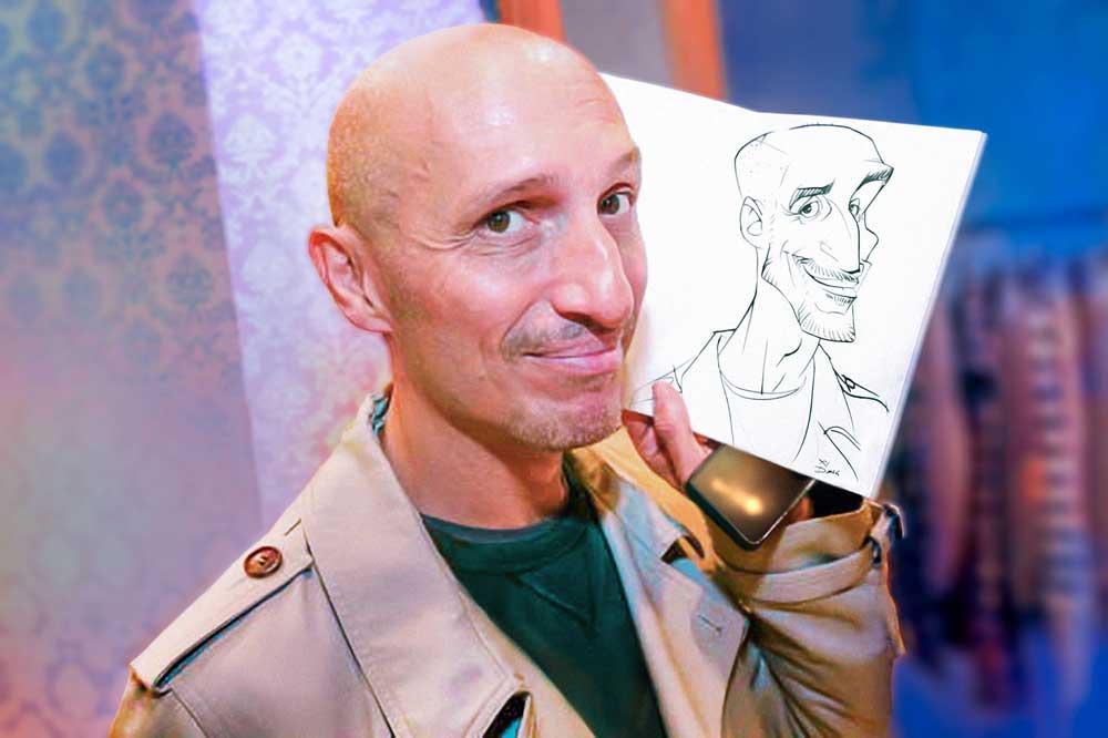 Karikaturist/Schnellzeichner für Promotions in Salzburg