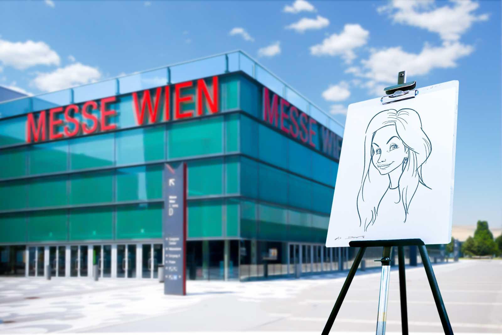 Schnellzeichner und Karikaturist für Wien und Umgebung