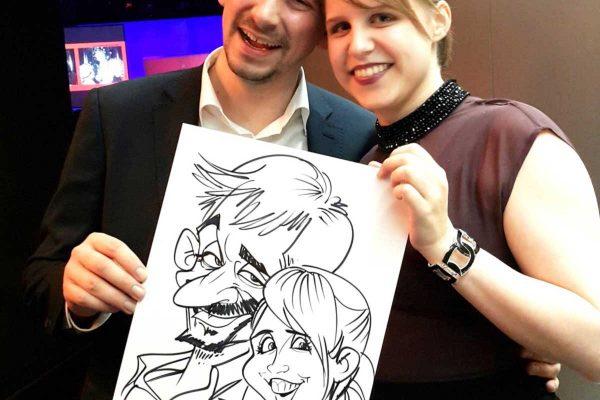 Bester-Karikaturist-Schnellzeichner-in-Klagenfurt-Kaernten-10