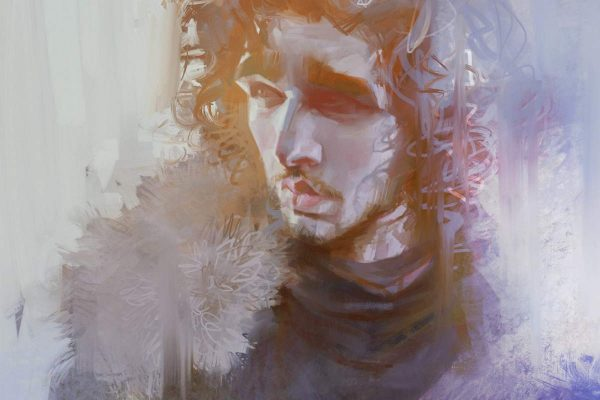 Karikatur Jon Snow