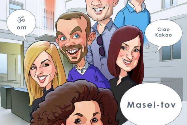 Karikatur-nach-Foto-Digital-Comic-13