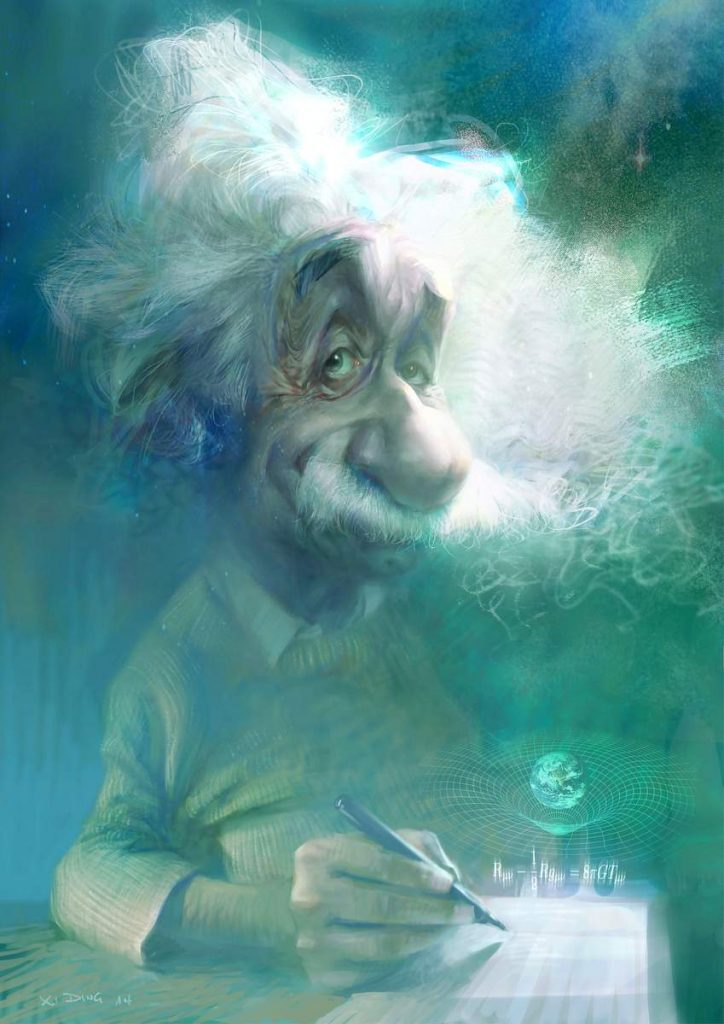 Einstein Caricature