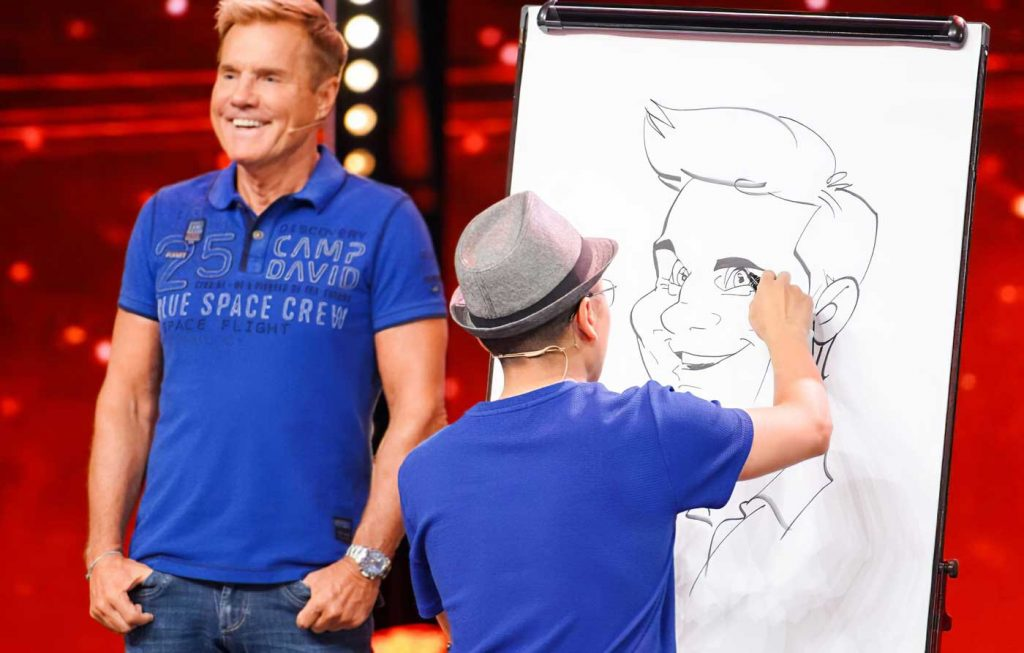Xi Ding Super Talent mit Dieter Bohlen
