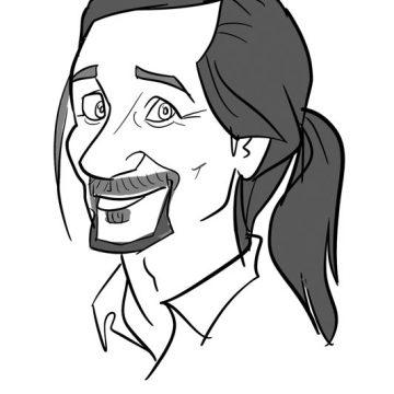 Xi-Ding-Digital-Karikatur-Schwarzweis-22